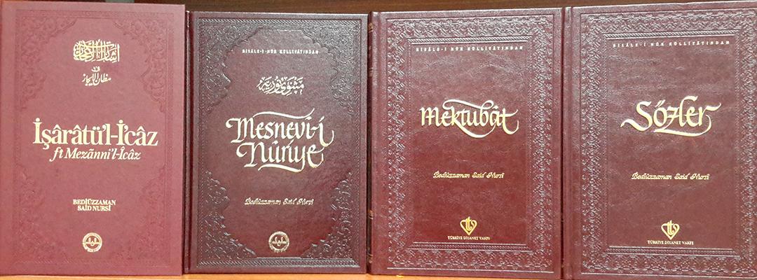 Hiçbir kitaplık Risale-i Nur'suz Kalmasın